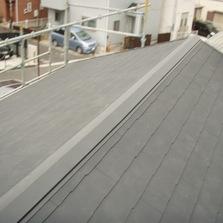 外壁と屋根の塗り替え工事を行いました