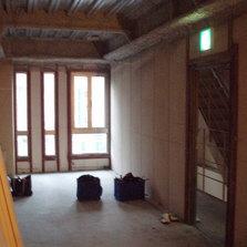 内装スケルトンのテナントビルの内装工事