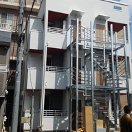 デザインが人気!新川崎の3階建ワンルーム6戸