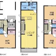 ツーバイフォー(2×4)工法の3階建コンパクト住宅